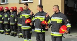 Nowi strażacy w PSP Ciechanów. Złożyli ślubowanie [zdjęcia]