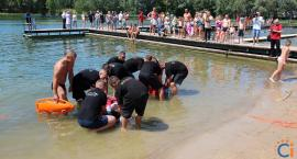 Ciechanowianie pokazali, że kręci ich bezpieczeństwo nad wodą [wideo/zdjęcia]