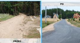 Zakończyła się przebudowa drogi w gminie Glinojeck
