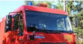 Cielak wpadł do szamba. Na ratunek ruszyli strażacy z Ciechanowa i Sońska
