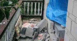 Nocny wybuch gazu w domu. W środku było sześć osób [zdjęcia]