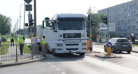 AKTUALIZACJA: Tragiczny wypadek na ul. Pułtuskiej. Zginął mieszkaniec Ciechanowa [zdjęcia]