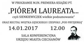 Premiera książki PIÓREM LAUREATA... czyli Sienkiewiczek wielkie podsumowanie