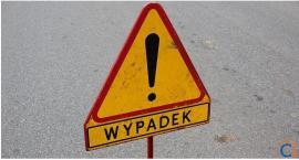 Poranne zderzenie motocykla z osobówką w Ciechanowie