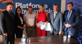 PO i Nowoczesna przedstawiły kandydatów do Rady Powiatu Ciechanowskiego [wideo/zdjęcia]