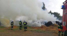 Pożar w gminie Regimin. Ktoś zaprószył ogień? [zdjęcia]