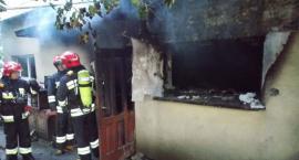Tragiczny finał pożaru domu w centrum Ciechanowa [zdjęcia]