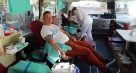 Policjanci z Ciechanowa zorganizowali zbiórkę krwi [zdjęcia]