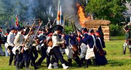 Wojska francuskie i rosyjskie starły się w Gołyminie [wideo/zdjęcia]