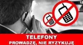 Ciechanowska drogówka prowadzi działania pn. Telefony