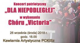 Koncert patriotyczny Dla Niepodległej w Ciechanowie