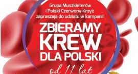 Przy centrum handlowym pod Ciechanowem będą zbierać krew dla Polski