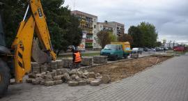 Na ul. Armii Krajowej rozpoczął się remont parkingów