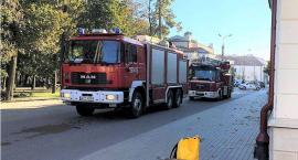 Pożar w pomieszczeniach banku u sąsiadów
