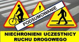 Piesi i rowerzyści łamali przepisy na ciechanowskich drogach
