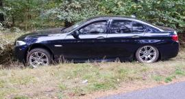 Kierowca BMW zakończył jazdę w rowie [zdjęcia]