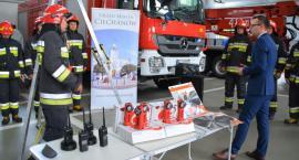 Nowy sprzęt i wyposażenie dla ciechanowskiej Straży Pożarnej