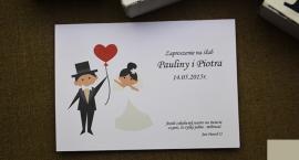 Śmieszne zaproszenie na ślub w atrakcyjnych cenach