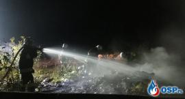 Kolejny pożar przy cmentarzu [zdjęcia]