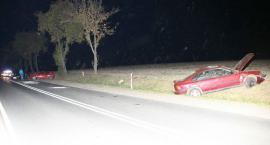 Pijany doprowadził do zderzenia czterech samochodów na drodze Ciechanów-Płońsk