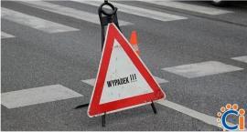 Zderzenie samochodów na ul. Mławskiej