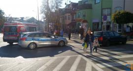 [AKTUALIZACJA] Dwoje dzieci potrąconych na pasach w centrum Ciechanowa