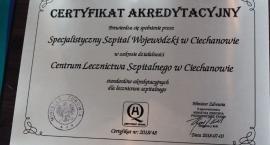 Ciechanowski szpital z certyfkatem jakości świadczonych usług [wideo/zdjęcia]