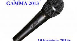 Przegląd wokalny GAMMA 2013