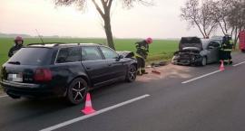 Zderzenie Audi i Forda w Grudusku [zdjęcia]