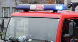 Dramatyczna akcja strażaków na cmentarzu w Sońsku