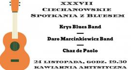 Blues na Dołku - XXXVII Ciechanowskie Spotkania z Bluesem w Ciechanowie