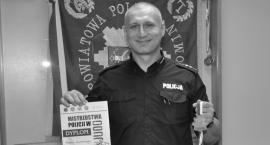 Rzecznik prasowy policji zginął w wypadku