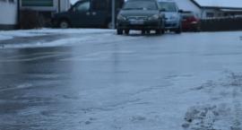 IMGW ostrzega kierowców z powiatu ciechanowskiego