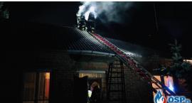 Kolejny pożar w domu w gminie Glinojeck [zdjęcia]