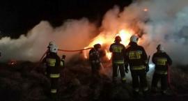 Duży pożar w gminie Ciechanów [zdjęcia]