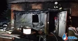 Kobieta zginęła w pożarze domu [zdjęcia]