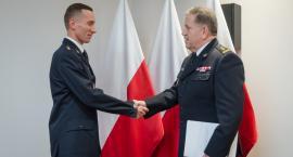 Nowy zastępca komendanta straży pożarnej w Ciechanowie [zdjęcia]