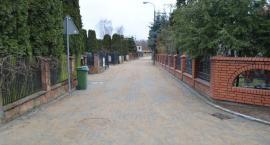 Przebudowana ulica na osiedlu Zachód