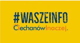 Wasze Info: Na terenie Ciechanowa zgubiono tablicę rejestracyjną