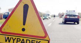Wypadek w Kondrajcu Pańskim: Młody kierowca spłonął na miejscu