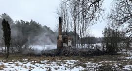Spłonął budynek jednorodzinny [zdjęcia]