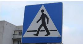 Wypadek na ul. Płońskiej. Mężczyzna potrącony na przejściu dla pieszych
