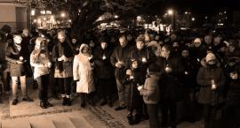 Ciechanowianie przeciw przemocy i ku pamięci prezydenta Adamowicza [wideo]