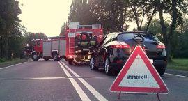 Tragiczny wypadek: zginął 18-letni mężczyzna. Ciężarówka zderzyła się z autem osobowym