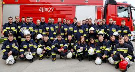 Strażacy z powiatu ciechanowskiego przeszli specjalistyczny kurs ratownictwa (zdjęcia)