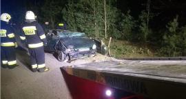 [AKTUALIZACJA] Tragedia w gminie Sońsk. Trzy osoby zginęły w wypadku [zdjęcia]