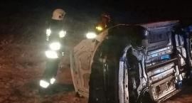 Trzy samochody zderzyły się w gm. Regimin [zdjęcia]