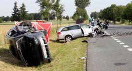 Tragiczny wypadek w Pepłowie, zginęła pasażerka