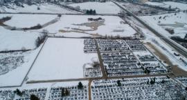 Cmentarz komunalny powiększa się