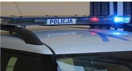 Pijany motorowerzysta uderzył w BMW